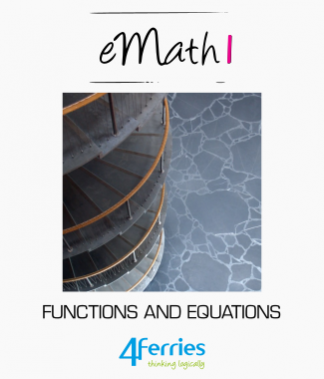 eMath textbooks (English)