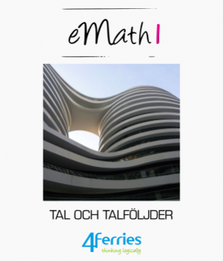 eMath textbooks (Swedish, OPS16)