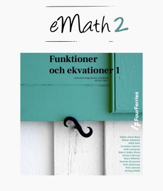eMath 2: Funktioner och ekvationer 1